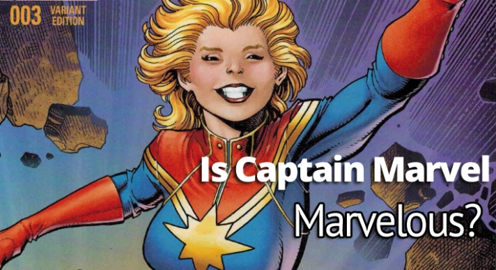 Beginning Image Capt Marvel