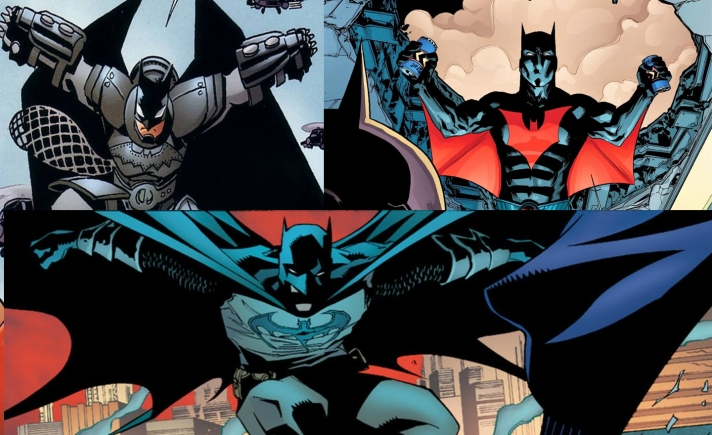 Cool Batsuits of History